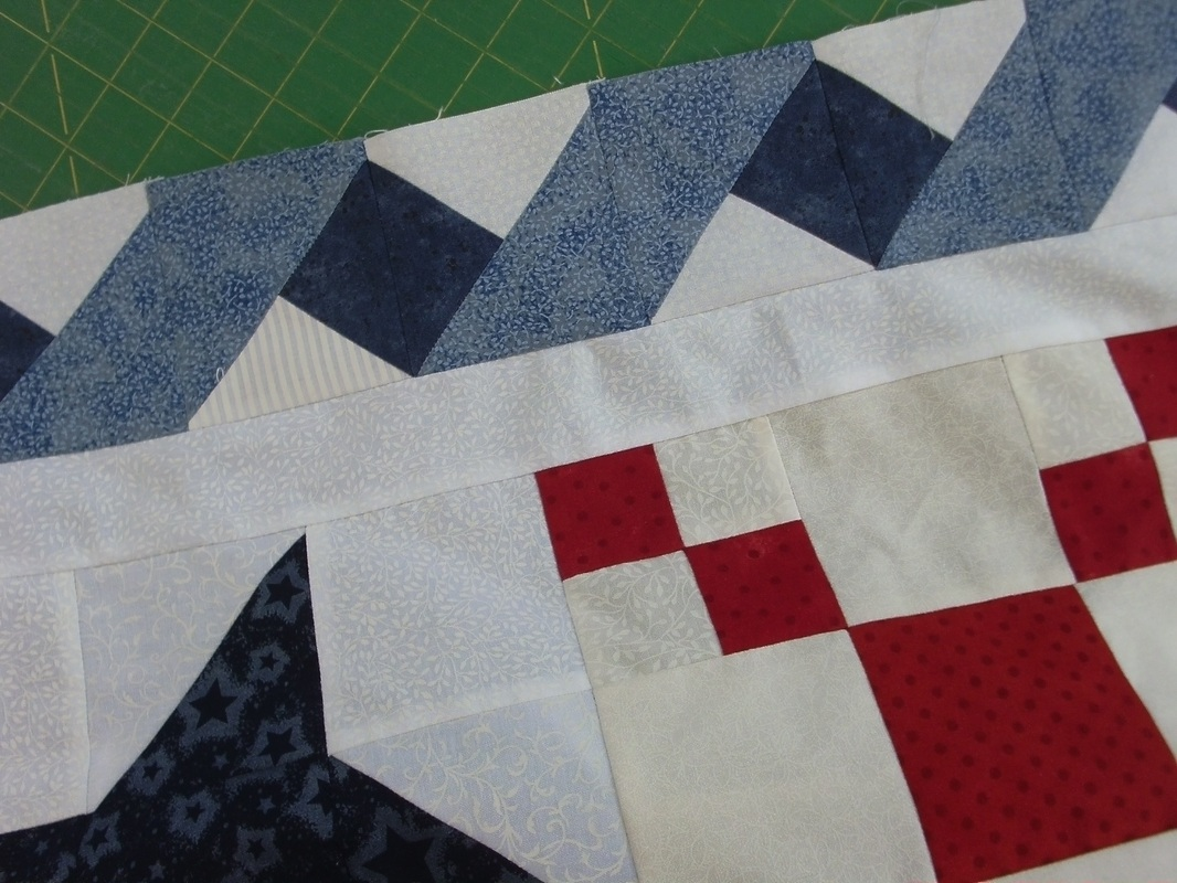 Applying Borders Quilted Apple
